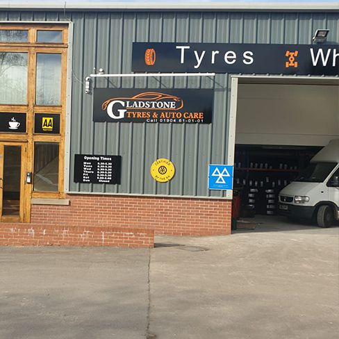 Car and Van DPF cleaning and repairs and replacement garage in york -Gladstone Tyres and Autocare - York